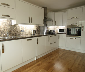 kitchen installed by mst joinery